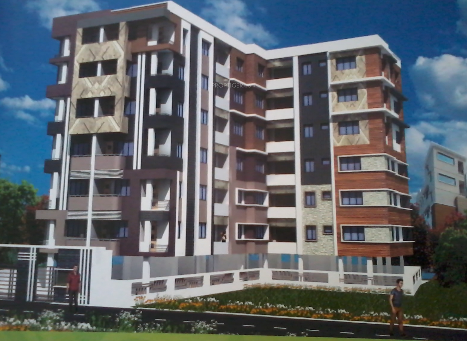 870 sq ft 2 bhk 2t apartment for sale in shivam builders