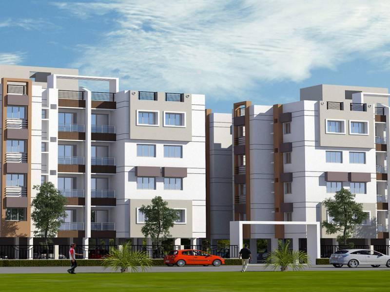 dwitya-apartment Elevation