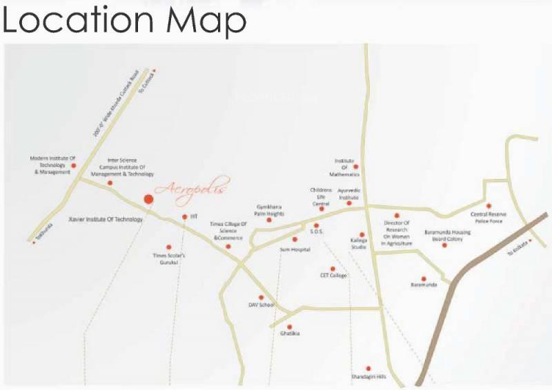 Images for Location Plan of Jupiter Acrux Commanders Acropolis