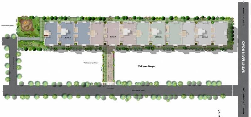 Images for Master Plan of Vishwasri Oak Park