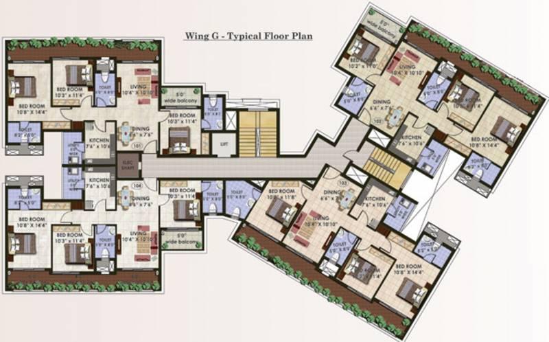 Images for Cluster Plan of Ashoka Thousand Palms Ph 1