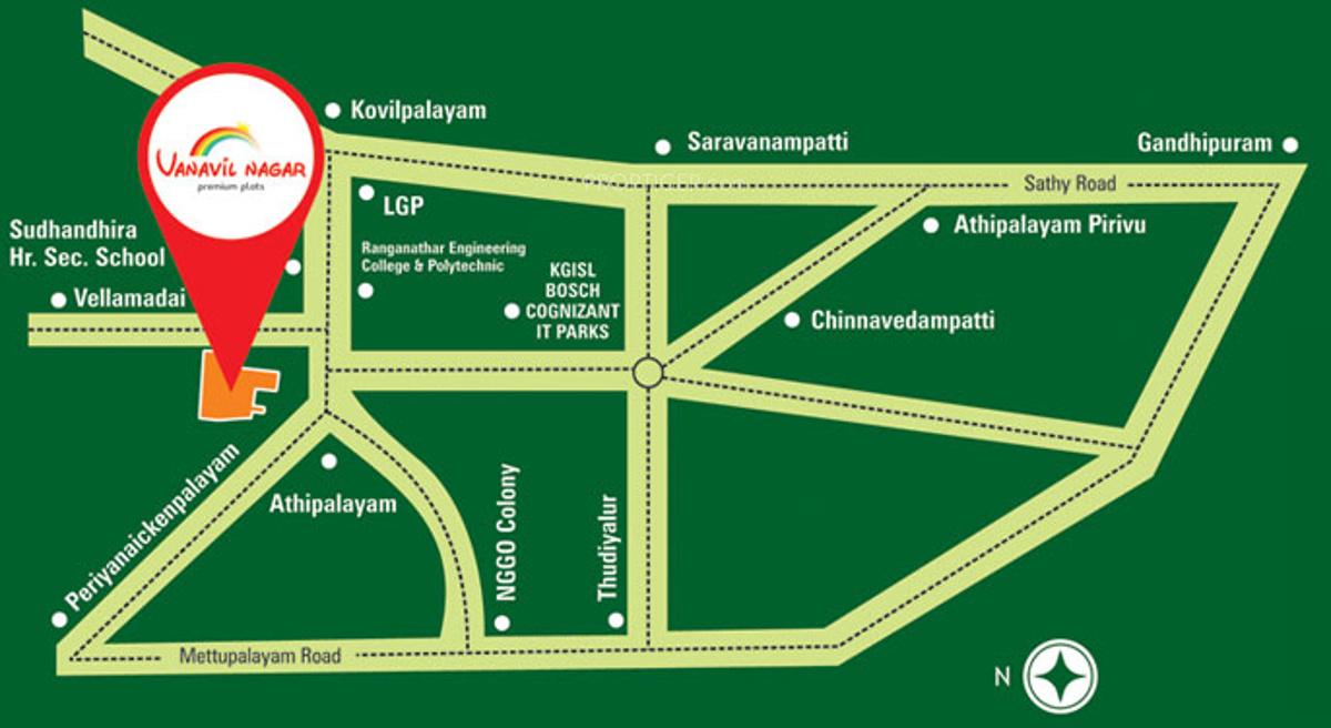 Thai Vanavil Nagar in Athipalayam, Coimbatore - Price