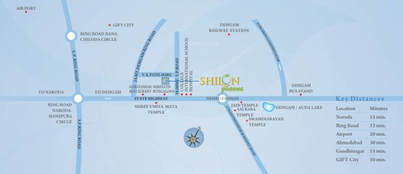 Images for Location Plan of Addor Realty Shilon Greens