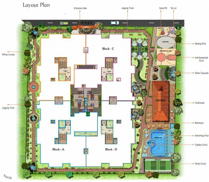 palace Images for Layout Plan of Prithvi Palace