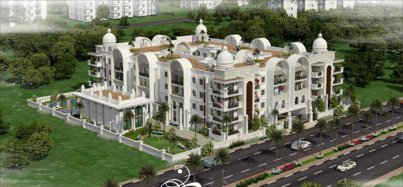 palace Images for Elevation of Prithvi Palace