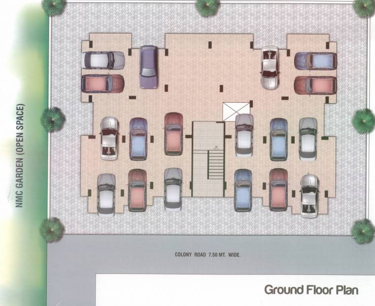 Images for Cluster Plan of Bhamare Darpan Heights