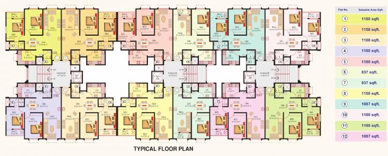 Images for Cluster Plan of Sai Yashodham