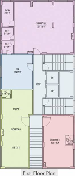 Images for Cluster Plan of Unimark Sikha Tuku