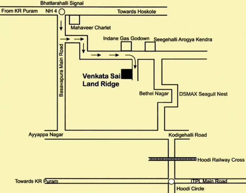 Images for Location Plan of Venkatasai Land Ridge