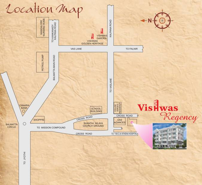 Images for Location Plan of Vishwas Regency
