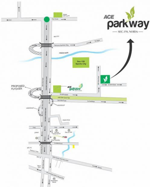 parkway Images for Location Plan of Ace Parkway