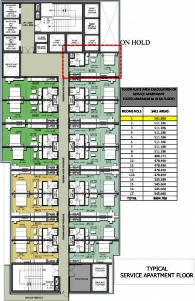 Images for Cluster Plan of Ajnara Megaleio