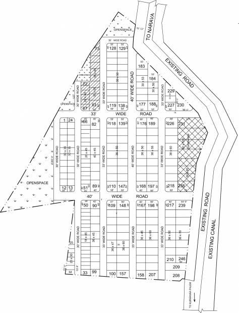 Images for Layout Plan of STBL Lakshmi Manohara Gardens