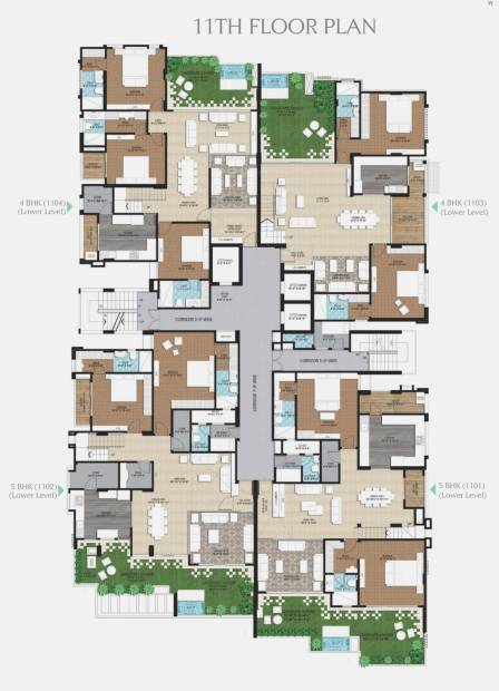 Images for Cluster Plan of Ridhiraj The Park Central
