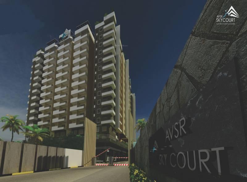 Images for Elevation of keystones AVSR Sky Court