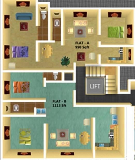 Images for Cluster Plan of JRK Advaita