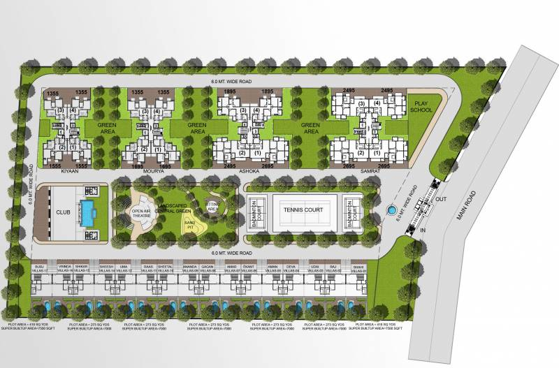 kimaantra-greens-apartment Images for Layout Plan of Sikka Kimaantra Greens Apartment