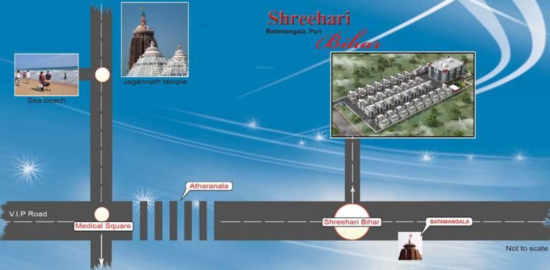 Images for Location Plan of Shreehari Bihar Bihar