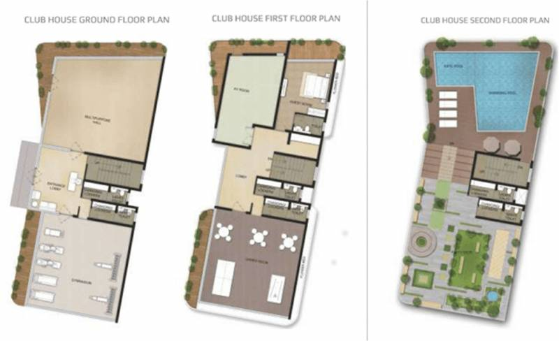 luxus Images for Cluster Plan of Artech Luxus