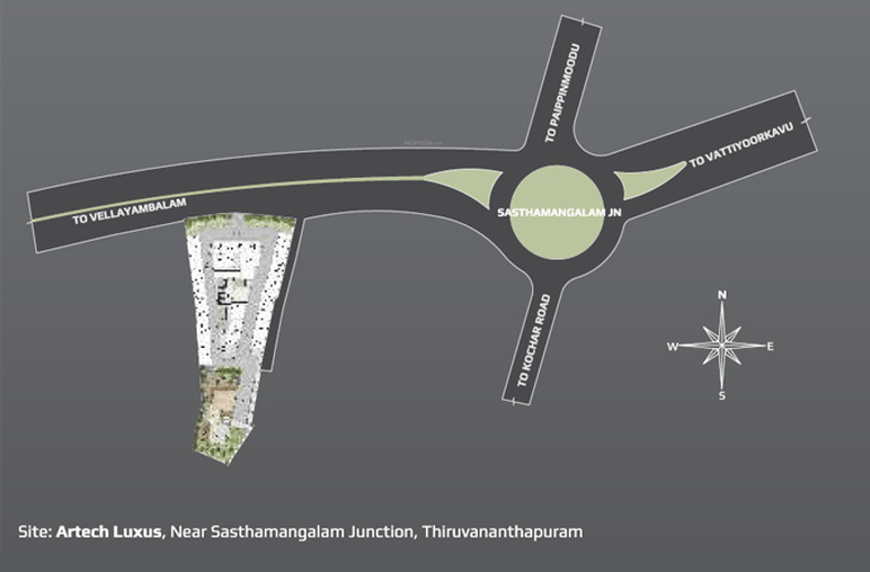 luxus Images for Location Plan of Artech Luxus