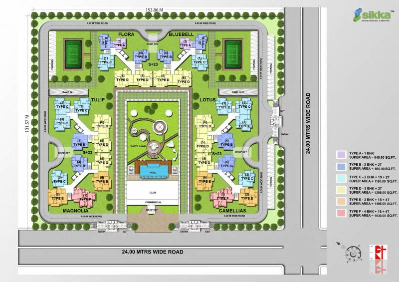 Images for Site Plan of Sikka Kirat Greens