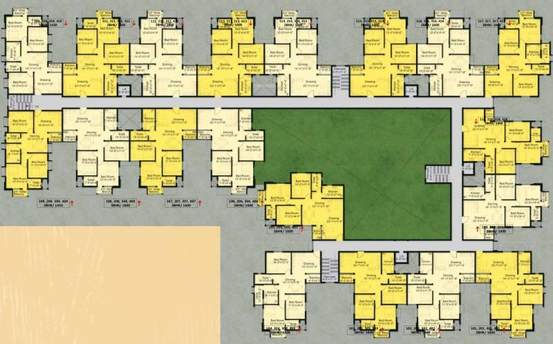 Images for Cluster Plan of Basera Fresco