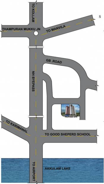 Images for Location Plan of Dhanya Lakewoods