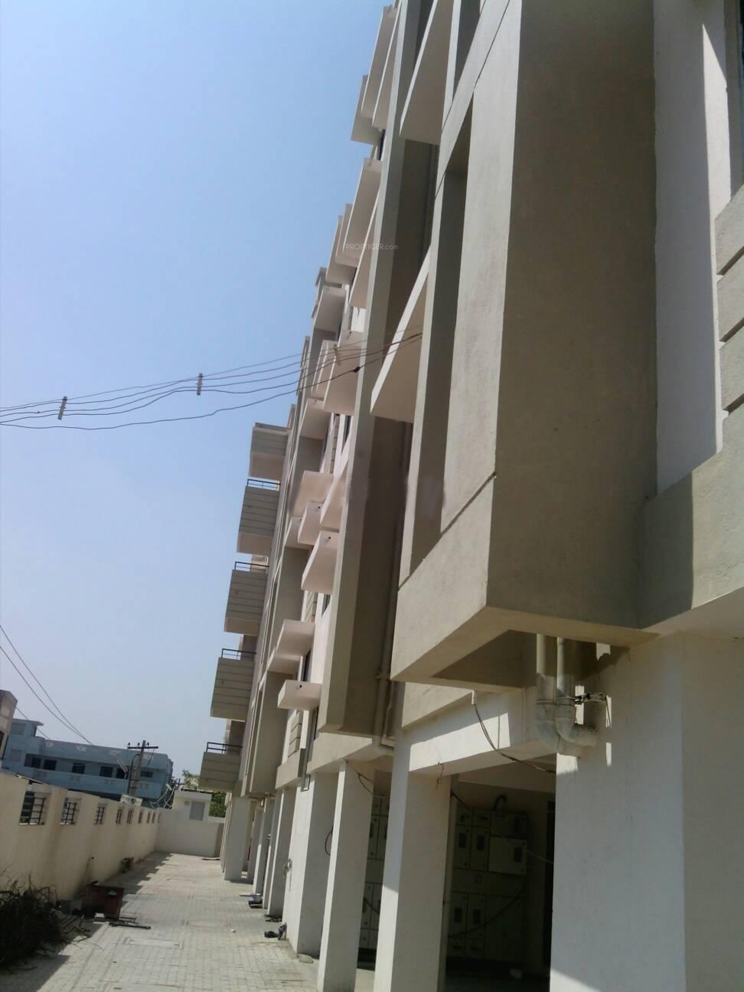 Copco tamara terrace in ayanambakkam chennai price for Terrace elevation
