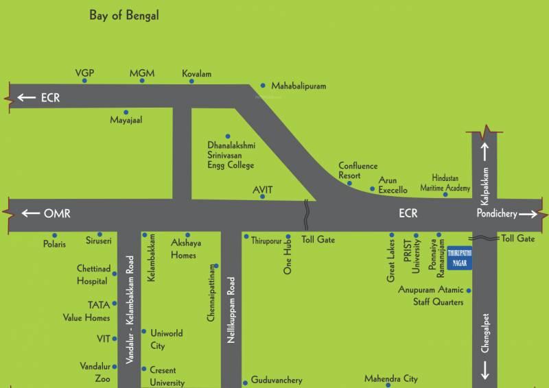 Images for Location Plan of Gita Thirupathi Nagar