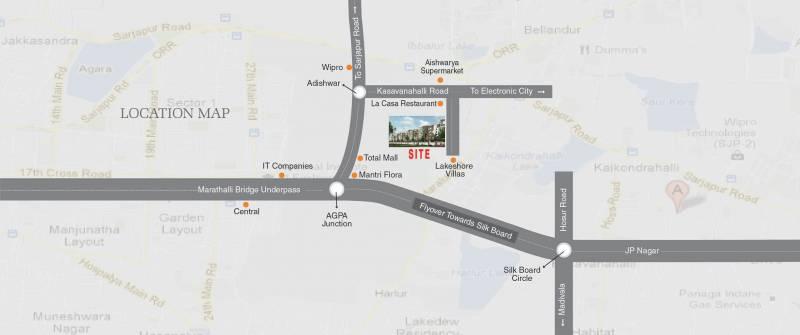Images for Location Plan of Ushodaya Luxuria