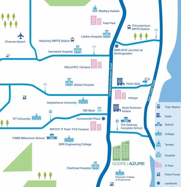 Images for Location Plan of Godrej Azure