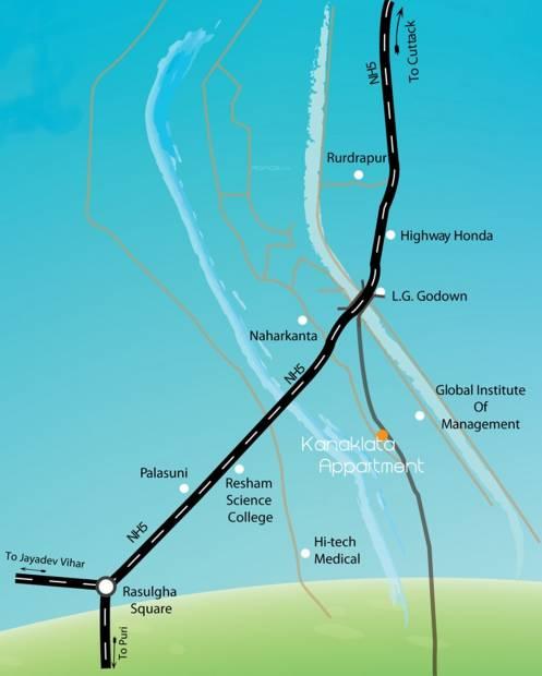 Images for Location Plan of Neelanchal Kanaklata
