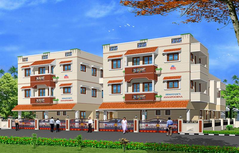 Images for Elevation of Himayam Annapoorna Apartments