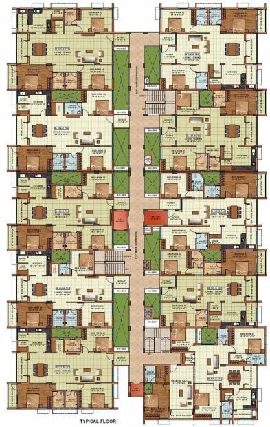 Images for Cluster Plan of Sakthi Sakthi Towers Phase2