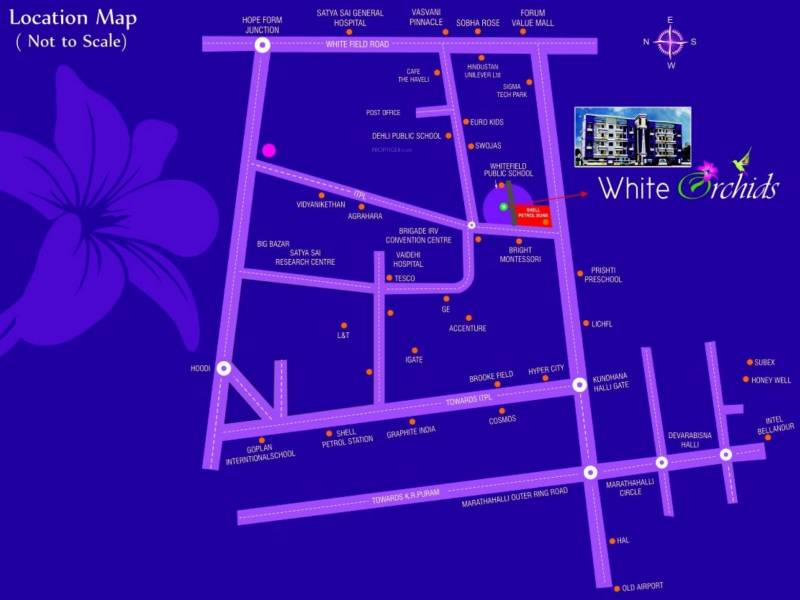Images for Location Plan of VSV White Orchids