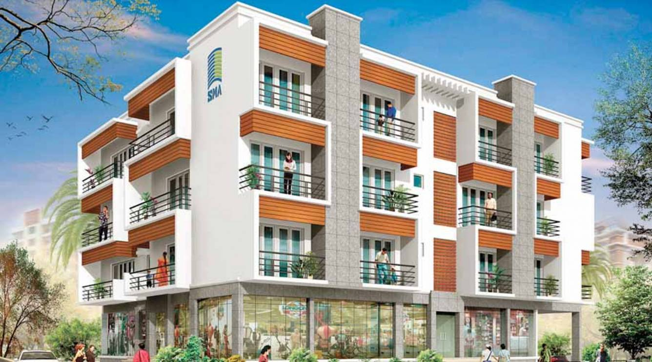 1105 sq ft 2 bhk 2t apartment for sale in sma developers for Park ave apartments for sale