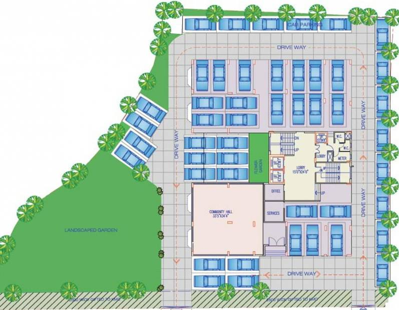 Images for Cluster Plan of Arch Shivam