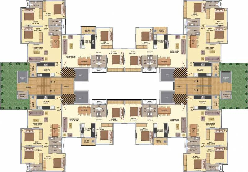 Images for Cluster Plan of Paramvir La Maison