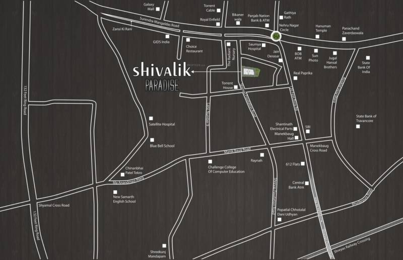 Images for Location Plan of Shivalik Paradise