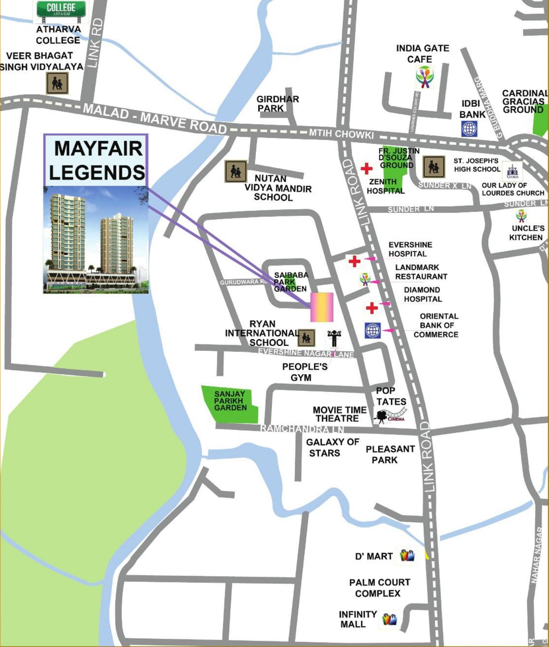 Myfair Com: Mayfair Legends In Malad West, Mumbai