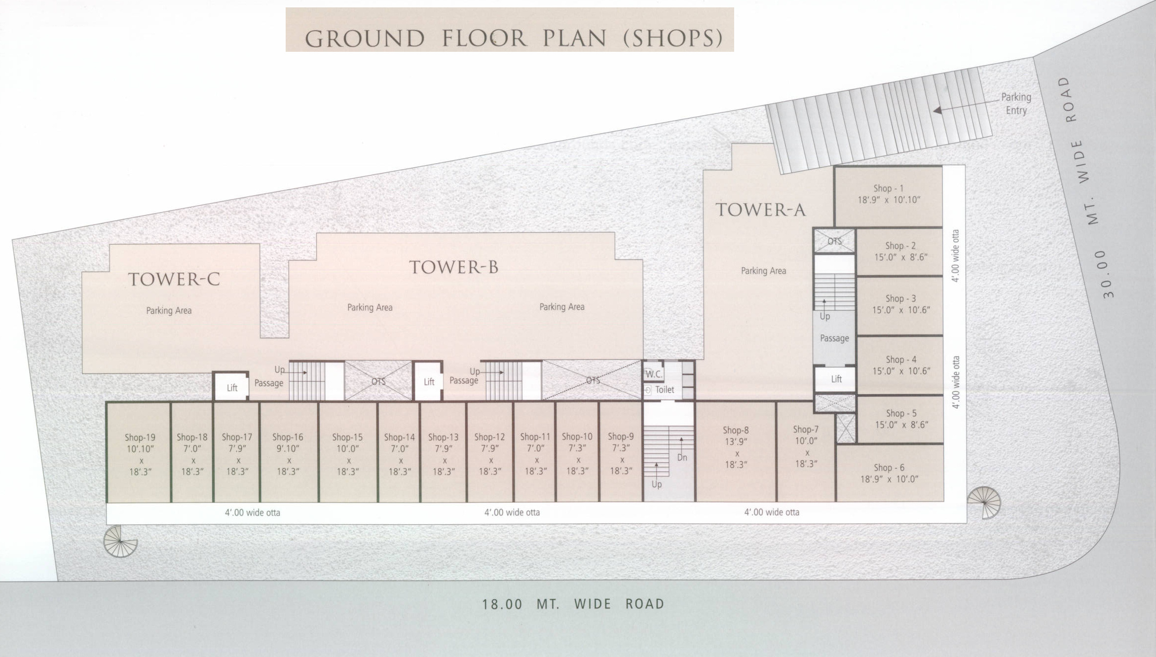 100 Sears Tower Floor Plan 100 Victorian Homes  : anand exotica tower a b c cluster plan for ground floor 656618 from 45.76.66.238 size 2343 x 1332 jpeg 719kB