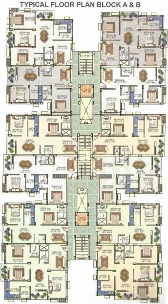 Images for Cluster Plan of Krishna Panchavati Residency