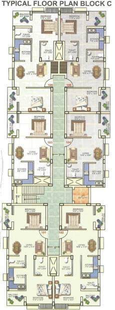 Images for Cluster Plan of Krishna Panchavati Residency