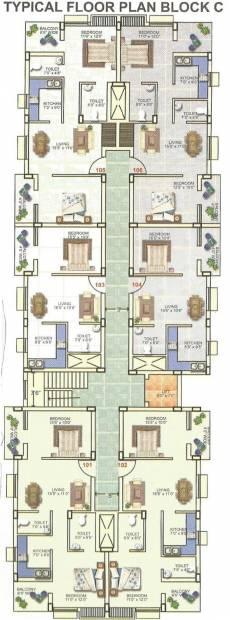panchavati-residency Images for Cluster Plan of Krishna Panchavati Residency
