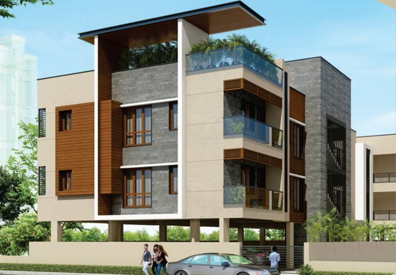 Images for Elevation of Poomalai Housing Akshara