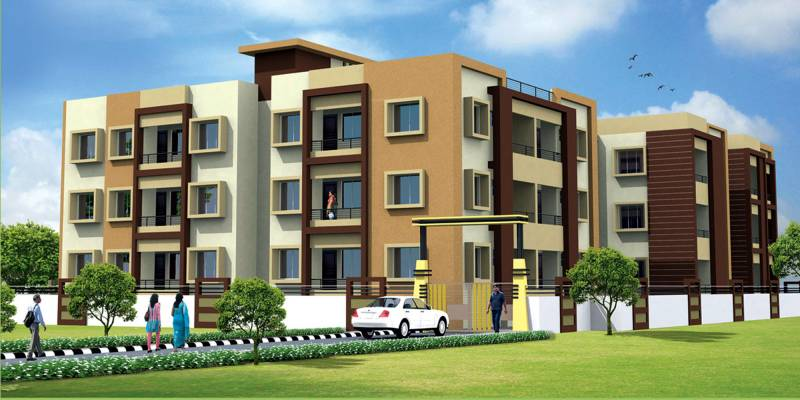 Images for Elevation of Anupam Madhwani Enclave