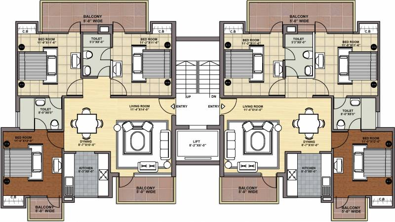 Images for Cluster Plan of Maxheights My Floors