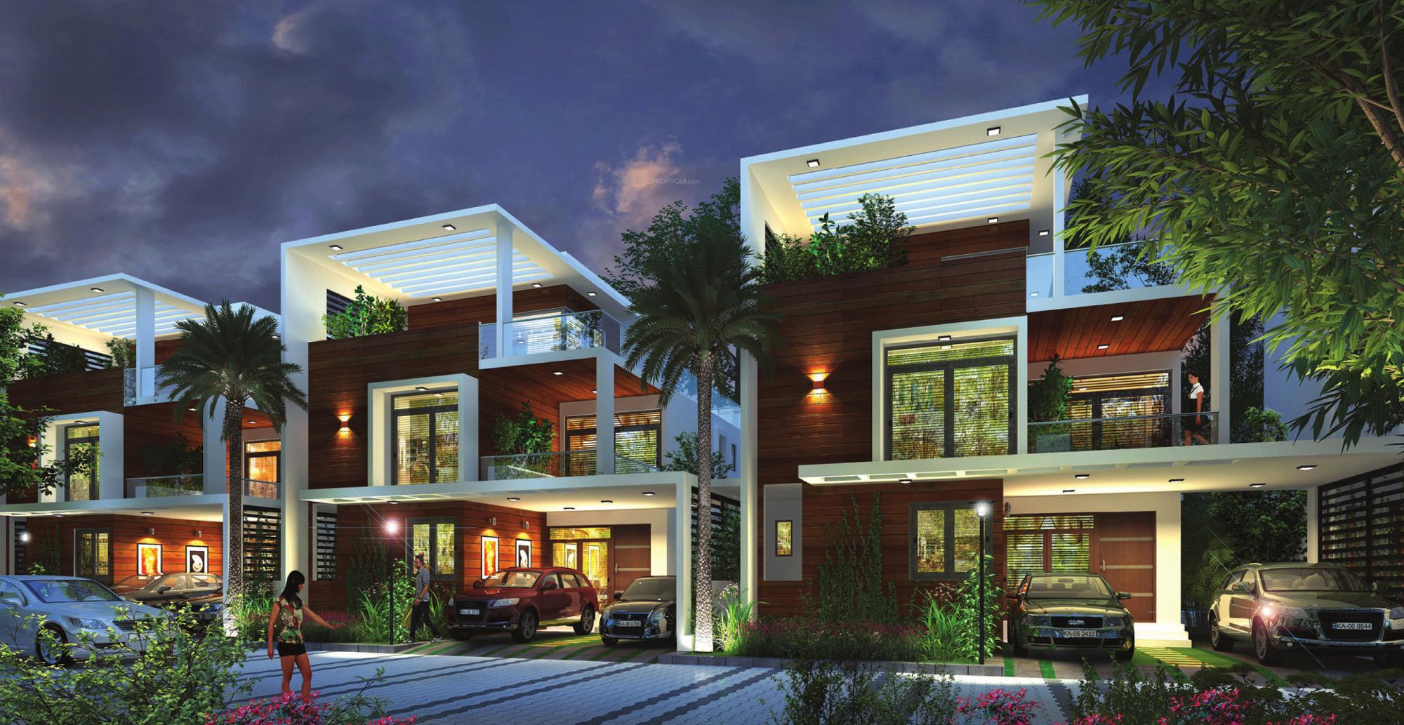 Ground Floor Elevation In Bangalore : Obel villas in varthur bangalore price location map