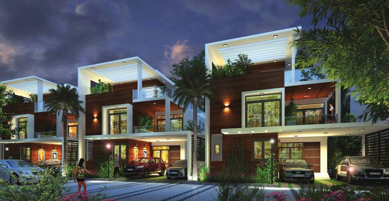 Images for Elevation of Obel Villas