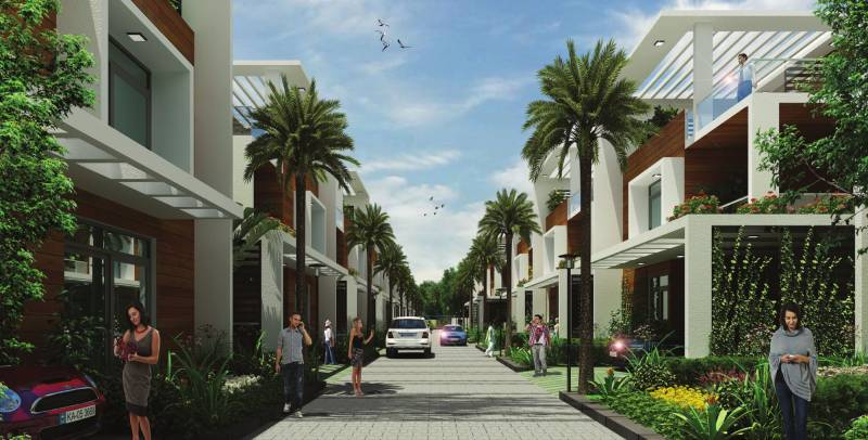 villas Images for Elevation of Obel Villas
